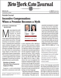 NYLJ article, When A Promise Becomes A Myth